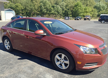 2012 Chevy Cruze Lt Sedan